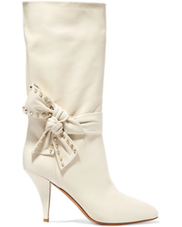 Valentino Garavani Embellished Leather Boots