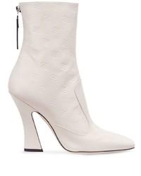 Fendi Tronchetto Ankle Boots