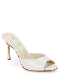 BCBGeneration Disco Faux Patent Leather Mules