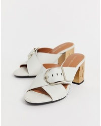 Tommy Hilfiger Mid Heel Mules