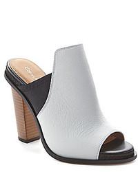 Calvin Klein Peggy Peep Toe Mules