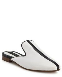 Rag & Bone Savoy Leather Loafer Mules