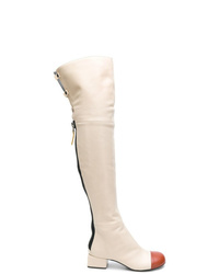 Marni Over The Knee Zip Boots