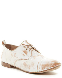 Bed Stu Bedstu Simone Leather Cap Toe Oxford