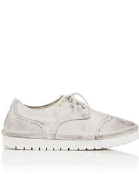 Marsèll Distressed Leather Wingtip Oxfords
