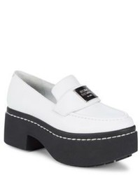 Opening Ceremony Leather Platform Loafers