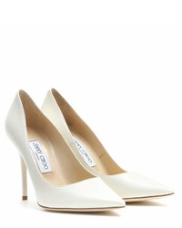 Jimmy Choo Abel Leather Pumps