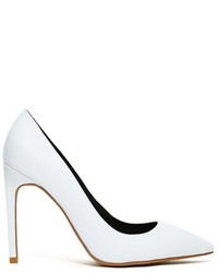 Nasty Gal Jeffrey Campbell Dulce Pump White