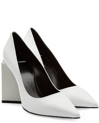 Pierre Hardy Monolithe Leather Pumps