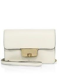 Milly Astor Crossbody Leather Clutch