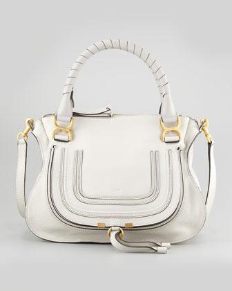 fake chloe purse - Chlo�� Chloe Marcie Medium Satchel Bag Off White | Where to buy ...