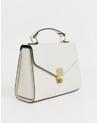 ASOS DESIGN Clean Satchel Cross Body Bag