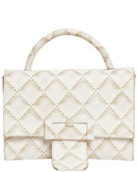 Maison Margiela Quilted Print Leather Shoulder Bag