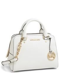 a77a2bd96f27 Women's White Leather Satchel Bags by MICHAEL Michael Kors | Women's ...