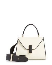 Valextra Mini Iside Colorblock Leather Bag