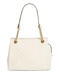 Gucci Signature Soft Leather Shoulder Bag