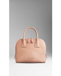 59ad2a79c9e4 ... Burberry Small Grainy Leather Bowling Bag