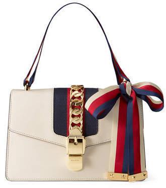 b668c26528b ... Gucci Sylvie Mini Leather Shoulder Bag ...