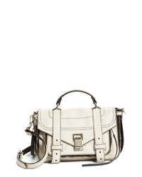 Proenza Schouler Tiny Ps1 Paper Leather Satchel