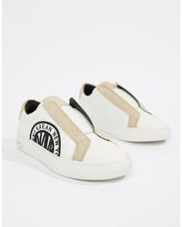 DKNY Callie Slip On Trainer With S