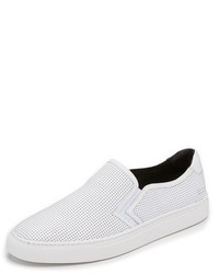 Uri Minkoff Canal Perforated Slip On Sneakers