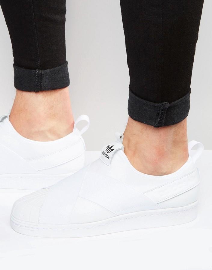 super popular 5823a 8b84c $81, adidas Originals Superstar Slip On Sneakers S81338
