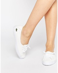 Lacoste Ziane Chunky Leather Slip On Sneakers
