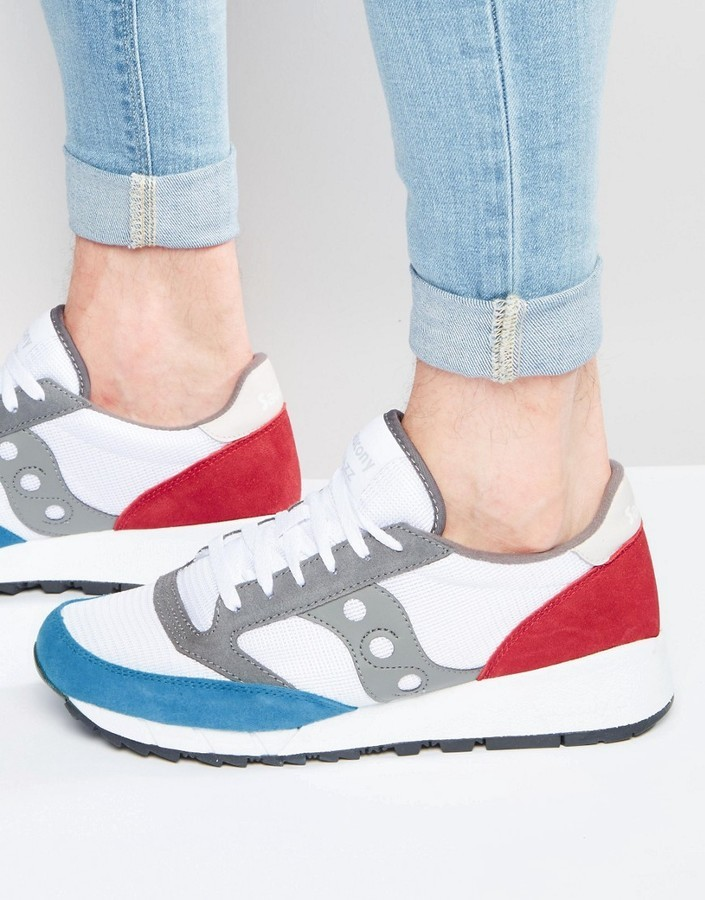 best value 5f1d7 27a53 $122, Saucony Jazz 91 Sneakers In White S70216 1