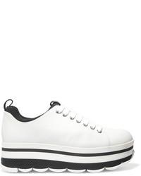 Prada Leather Sneakers White