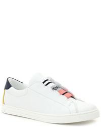 Fendi Scalloped Skate Sneakers