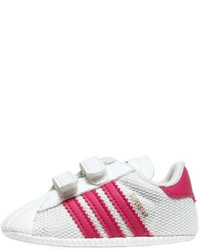 adidas Superstar Mesh Faux Leather Sneakers