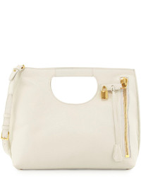 Tom Ford Alix Medium Shopper Tote Bag White