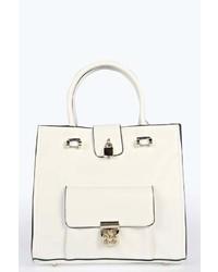 Boohoo Charlotte Pocket Front Shopper Day Bag