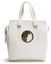 Versace Collection Leather Tote Handbag