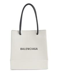 Balenciaga Extra Extra Small Aj Calfskin Shopper Tote