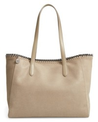 Falabella shaggy deer faux leather tote medium 5262341