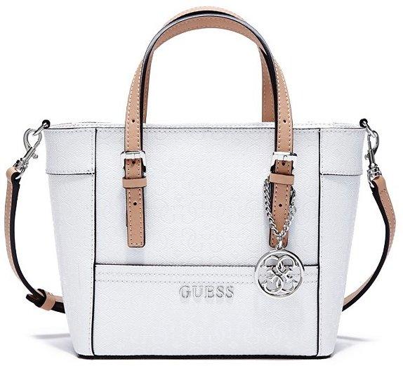 e3313e8dbb67 ... Bags GUESS Delaney Textured Logo Mini Tote ...