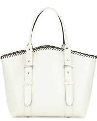 Alexander McQueen Legend Small Whipstitch Shopper Bag