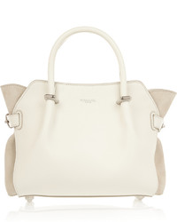 Nina Ricci March Small Leather And Suede Tote