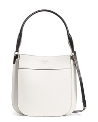 Prada Medium City Leather Hobo Bag