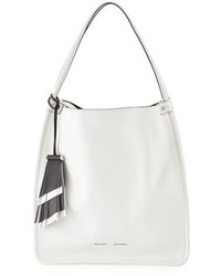 Proenza Schouler Medium Soft Leather Tote Bag White