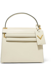 Valentino My Rockstud Large Leather Tote Ivory