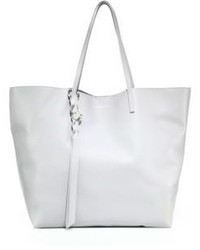 Alexander McQueen Skull Open Leather Shopper