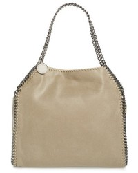 Small falabella shaggy deer faux leather tote medium 5264670