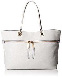 Tommy Hilfiger Camille Leather Tote Top Handle Bag