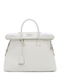Maison Margiela White Large 5ac Bag