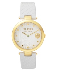Versus Versace Buffle Bay Leather Watch