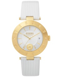 Versus Versace Logo Leather Watch