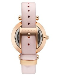 Ted Baker London Ava Leather Strap Watch 36mm