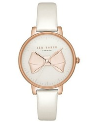 Ted Baker London Brook Leather Strap Watch 36mm